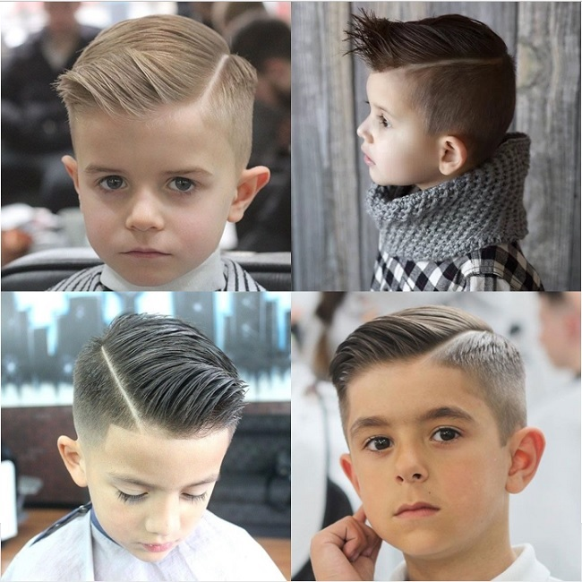 20 Adorable Little Boy Haircuts For Straight Hair Child