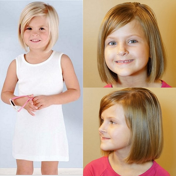 crop hairstyle for 9 year old girl