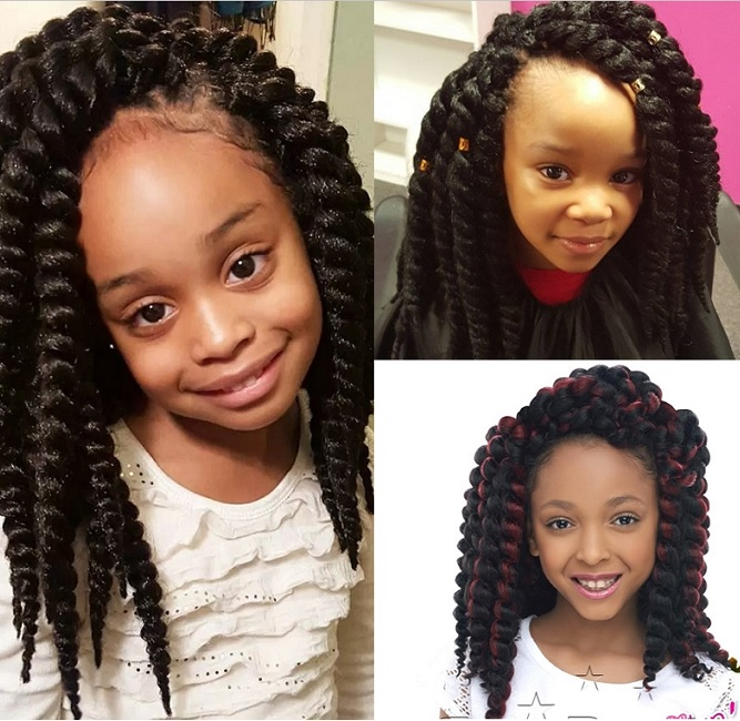Hairstyles for 9 year old black girl