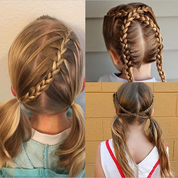 hair styles tied up 20 gorgeous hairstyles for 9 and 10 year child 4664 | 9 and 10 year old girl hairstyles 15