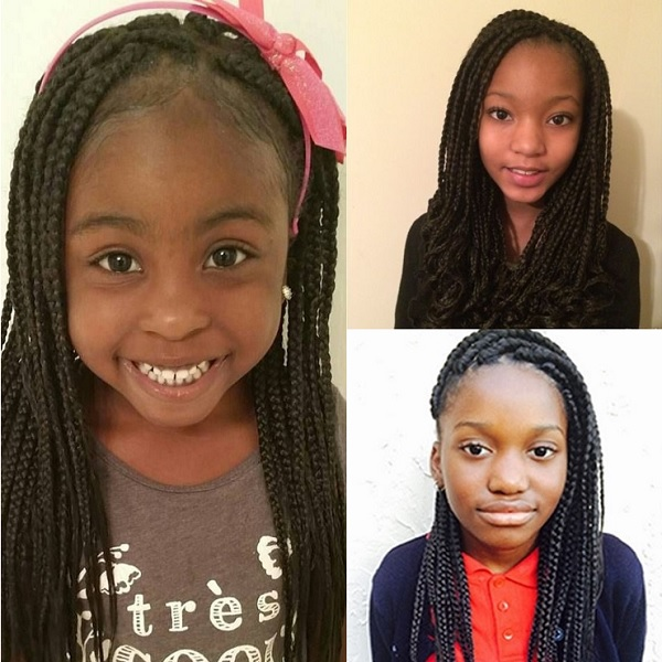 box braids for 9 and 10 year old girl