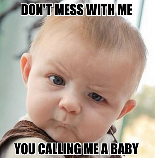 memes about angry baby