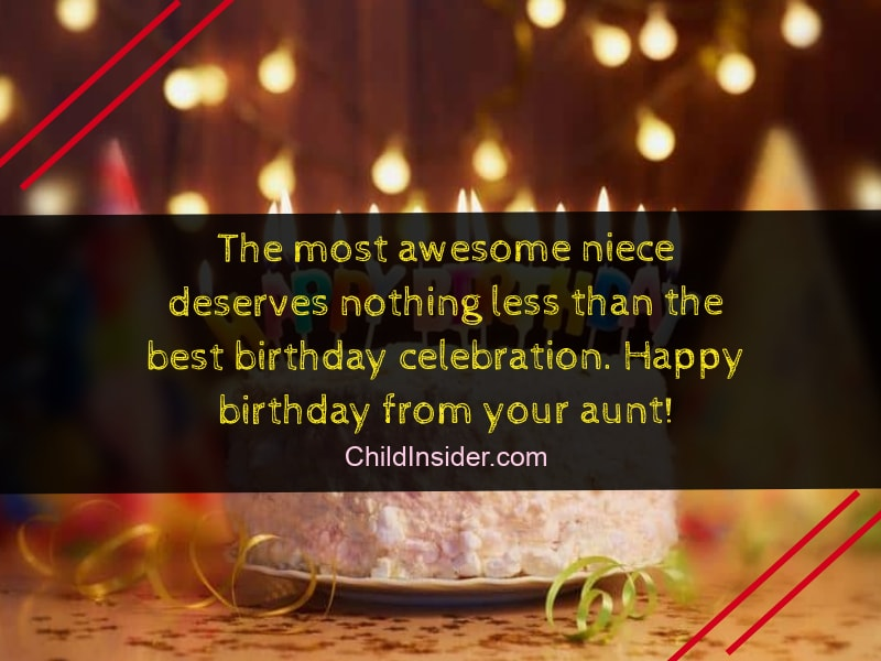 Inspirational Birthday Wishes And Quotes For Your Niece