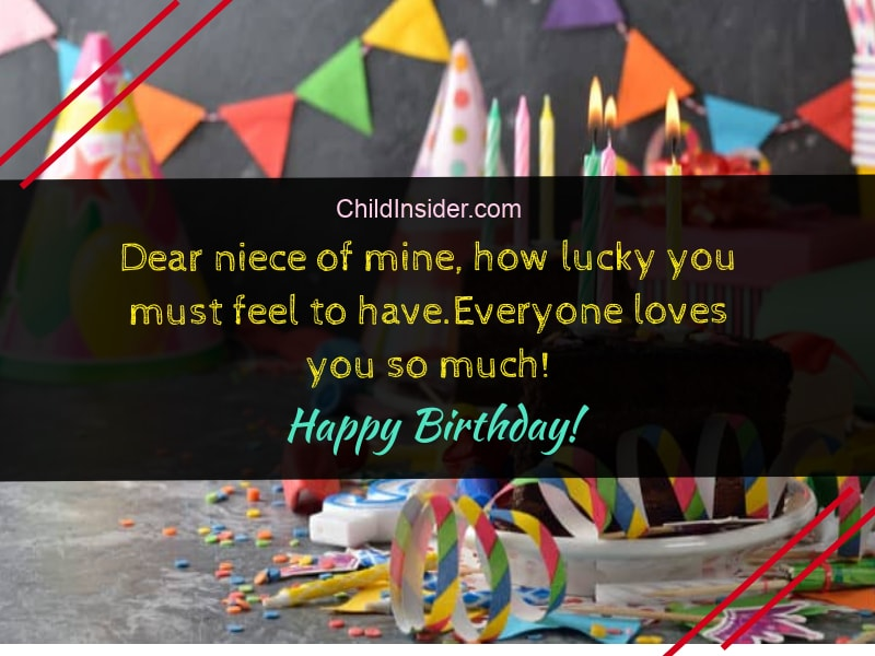 25 cute  funny birthday wishes for niece quotes with images