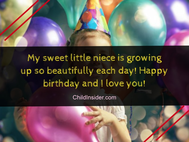 20 Cute Funny Birthday Wishes For Niece Quotes With Images