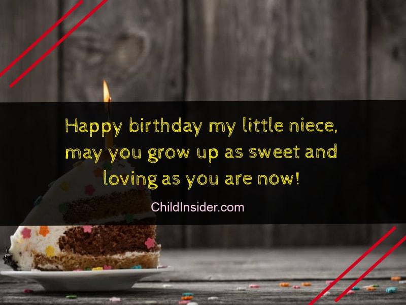 happy birthday message quote for niece