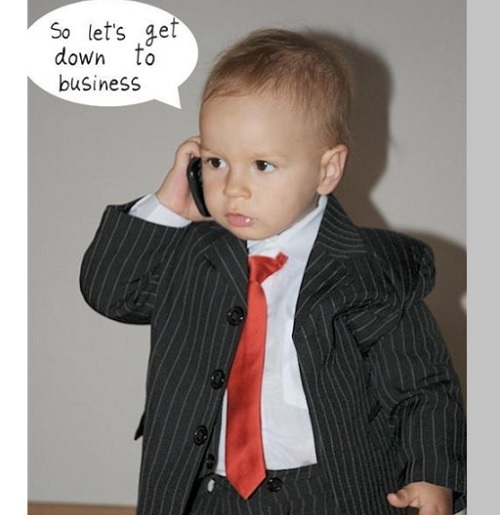 business baby memes to laugh