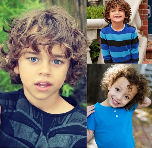 long curl hairstyles for boys