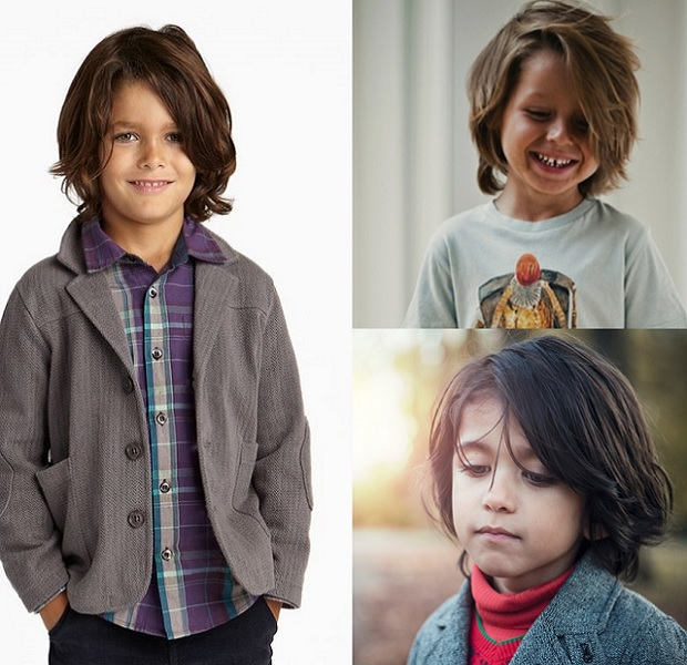 hairstyles for little boys with long hair
