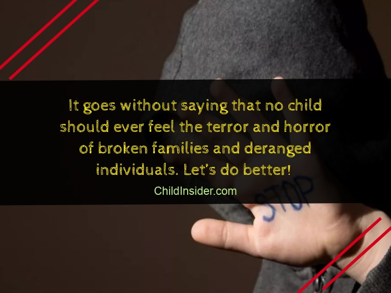 child abuse quotes that will remind us the danger child insider