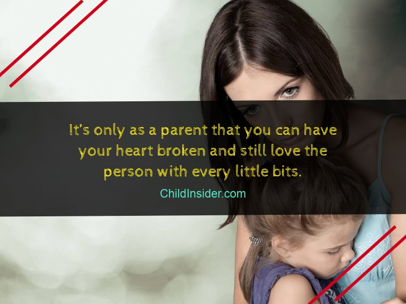 quote for mother when get hurt by child