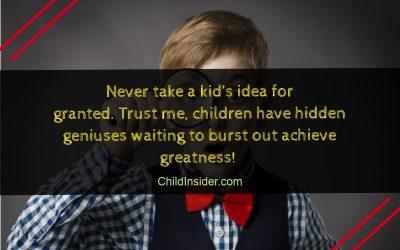 kid's quote