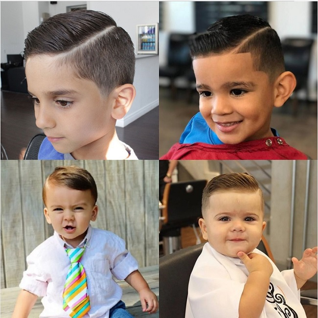 comb over haircut for baby boy