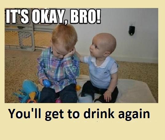 4cc4ad999ea9 40 Amusing Drunk Baby Memes That'll Make You Laugh Out Loud – Child ...
