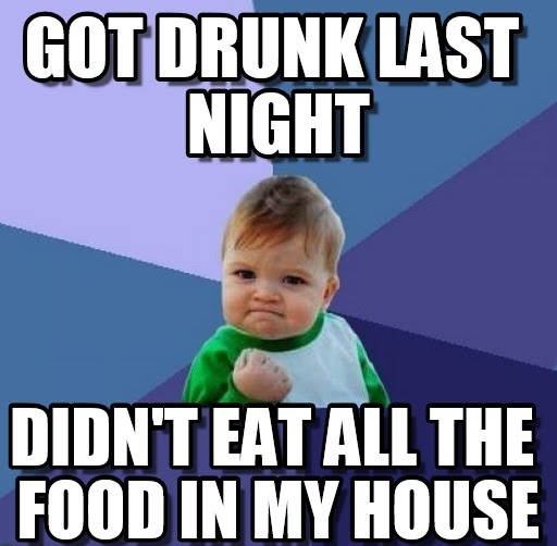popular memes about drunk baby