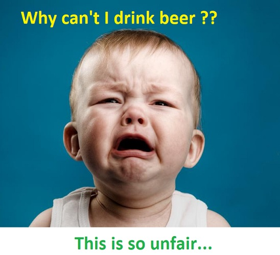 hilarious memes about drunk baby