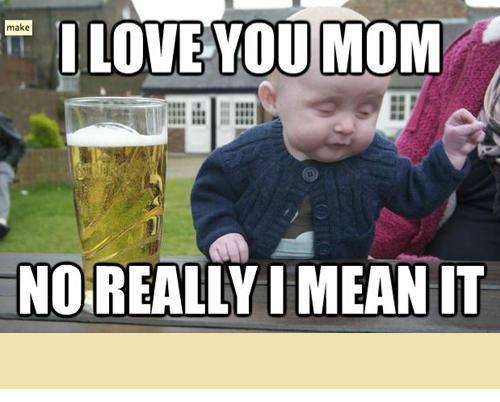 Cute drunk baby memes