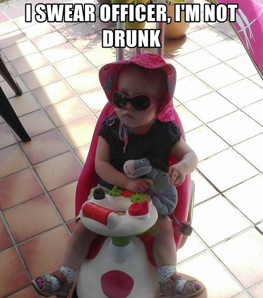 Hysterical drunk baby memes