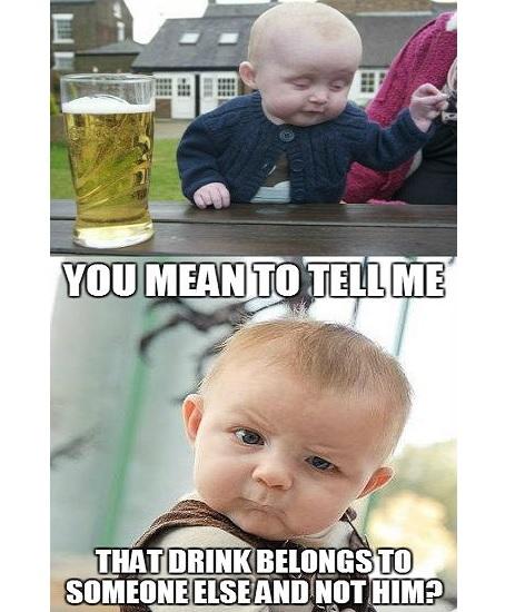 famous drunk baby memes
