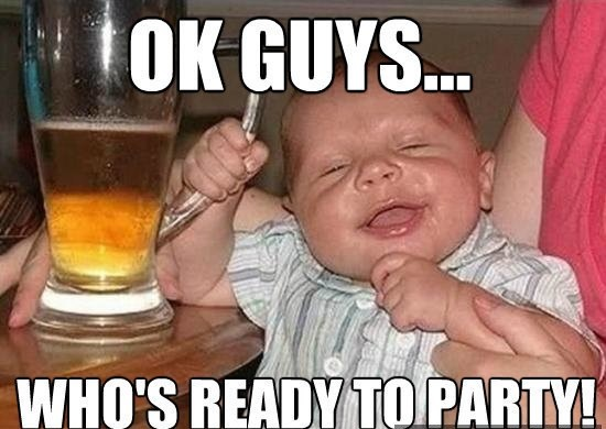 Memes about drunk baby