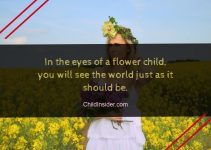 flower child quote