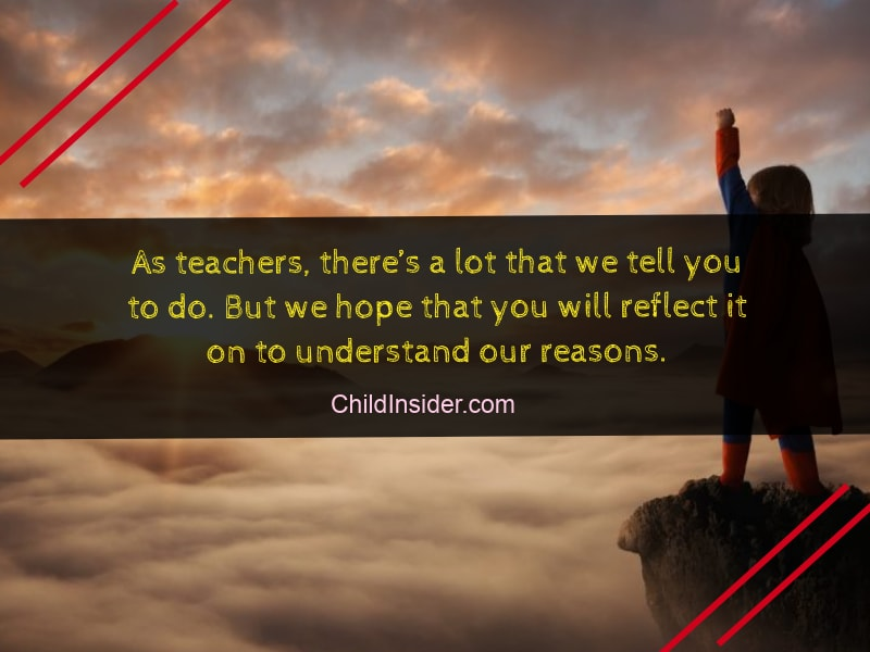 Inspirational Quotes for Kids from Teachers