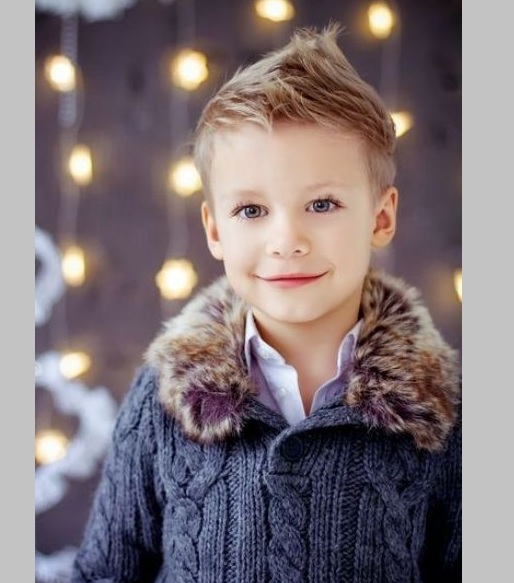 classy fohawk for little boy