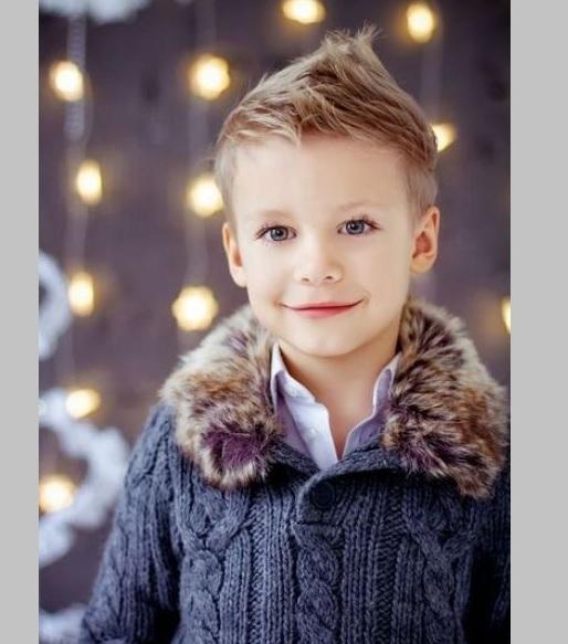 classy fohawk for little boy