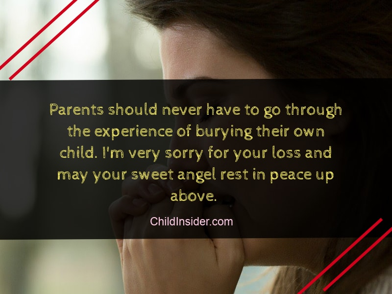 quotes about losing child