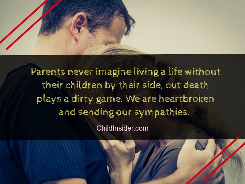 60 Best Quotes About Loss Of A Child To Show Sympathy Child Insider