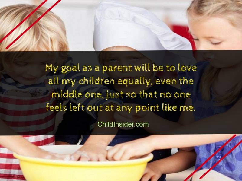 middle child love quote