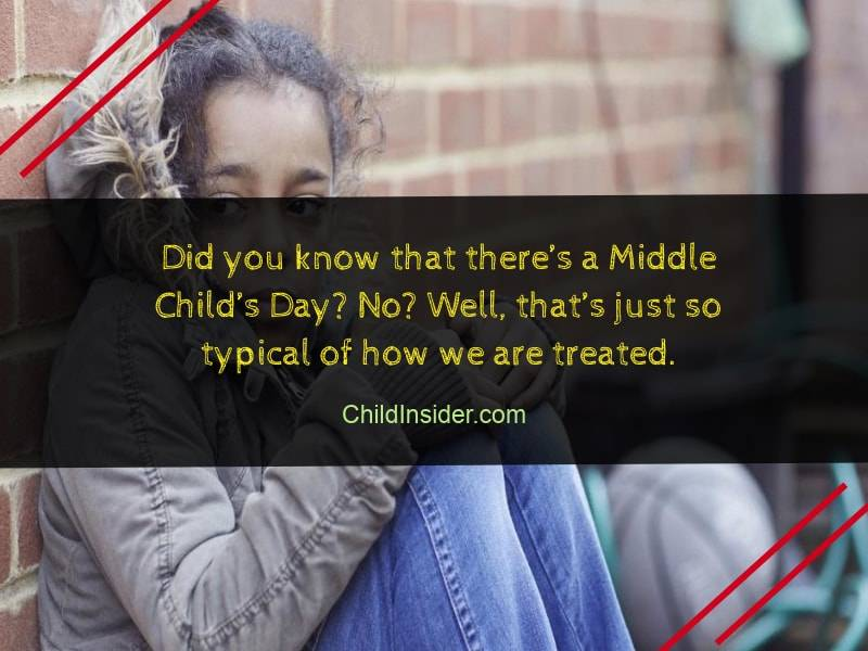 funny middle child quote