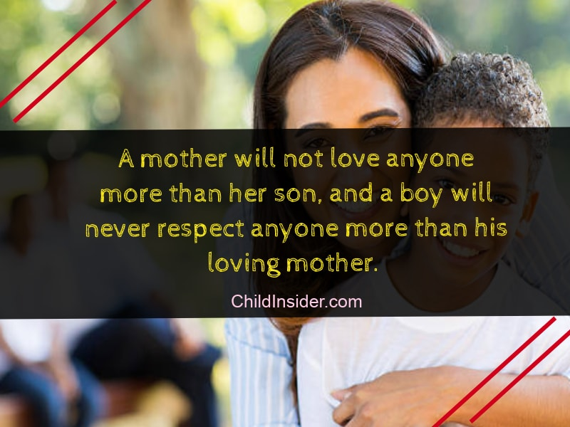 60 Best Mother and Son Bonding Quotes With Images Child Insider Extraordinary Bonding Quotes