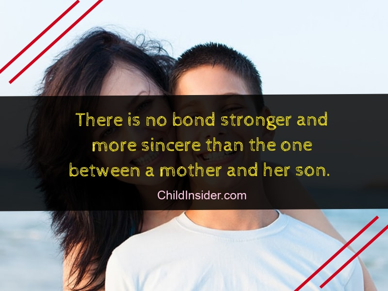 20 Best Mother and Son Bonding Quotes With Images – Child ...