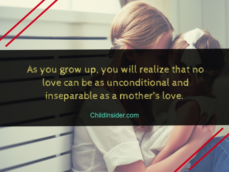 quote about a mother's love for her child