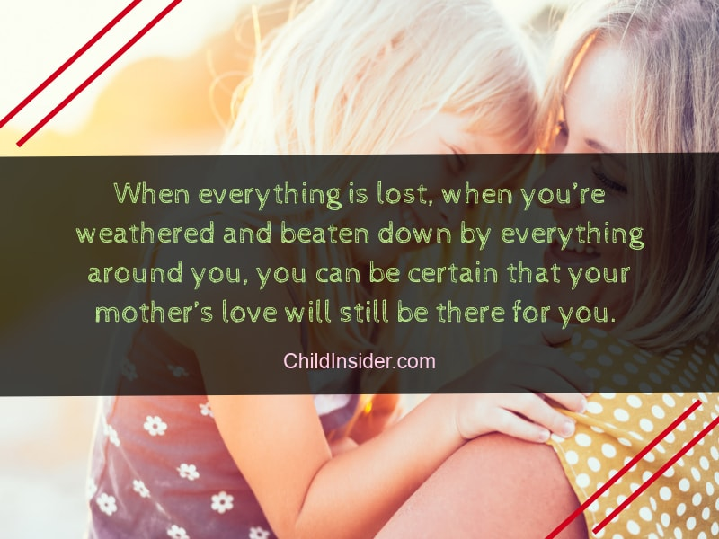 bond between mother and child quote