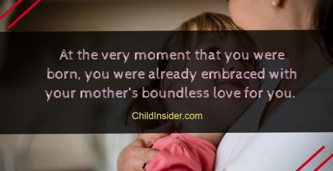 mother's love for child