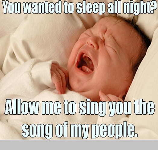 famous sleeping baby memes