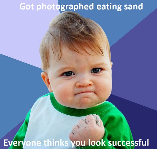 funny success baby memes