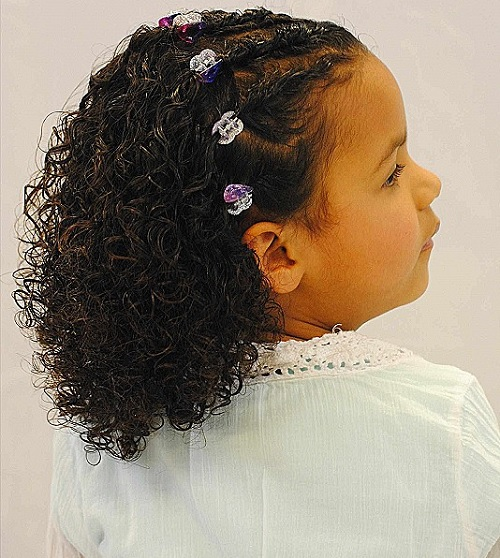 natural curls for toddler girl