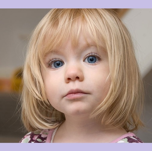 Haircut Of Girl Child: 10 Delightful Toddler Girl Haircuts With Bangs [2019