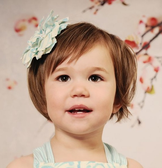 short bangs for toddler girl