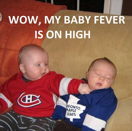 funny baby fever memes