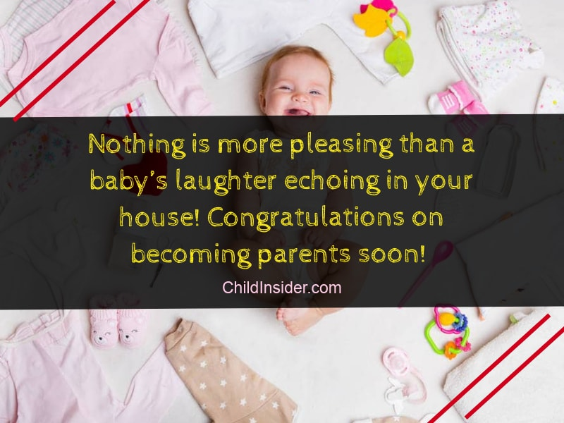 baby shower messages to share