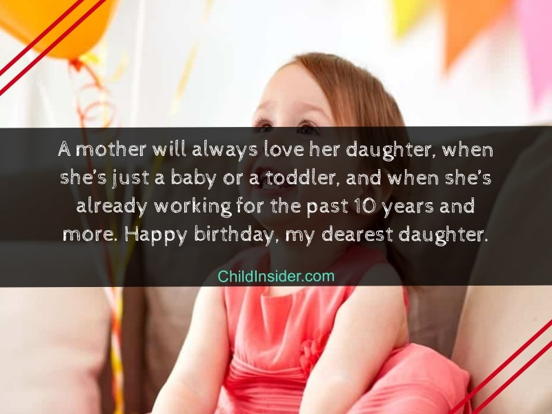 birthday messages for daughter from mother