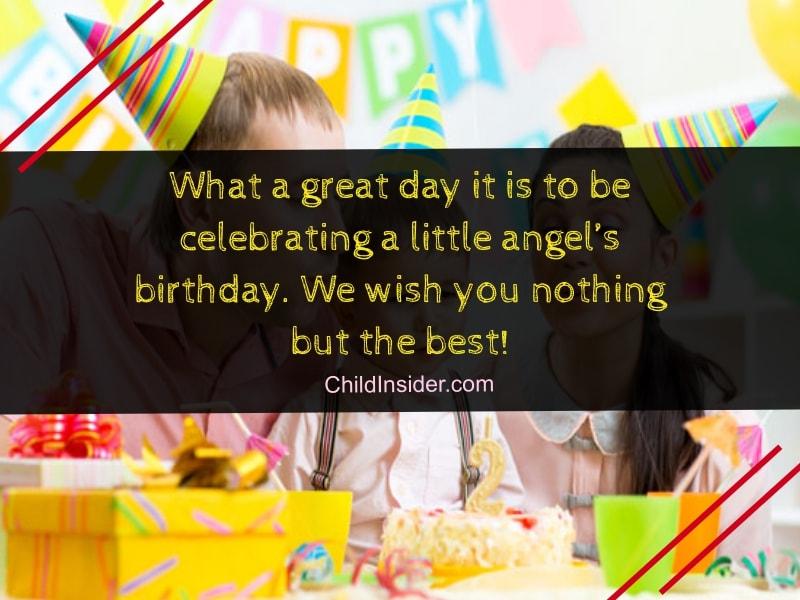 Happy Birthday Little One We Wish You The Most Joyous Celebration Yet