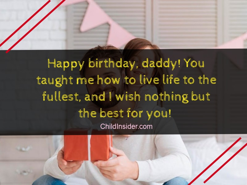 To The Best Dad In World Happy Birthday And Thank You For Being