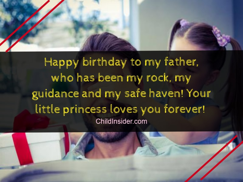 Happy Birthday Dad You Showed Me What A Perfect Husband And Father Looks Like