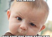 business baby meme