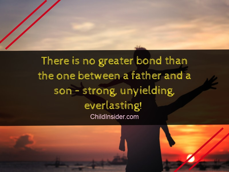 father son bonding quotes to make the bond stronger